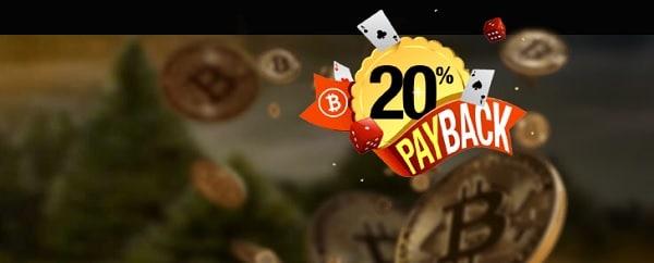 20% payback bonus