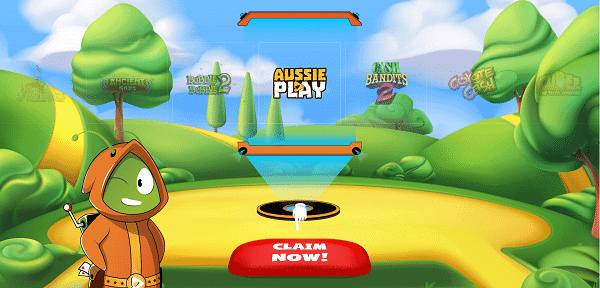 Aussie Play Register and Login
