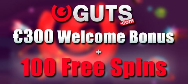 Guts Gratis Spins and Welcome Bonus