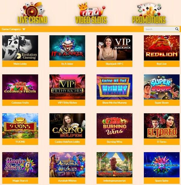 All Cashback Casino Review