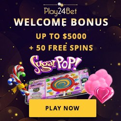 Play24Bet Casino 50 free spins and 100% up to $5000 bonus