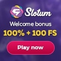 Slotum Casino 150 free spins and $/€3000 high roller welcome bonus
