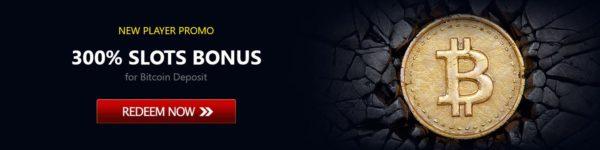 300% bitcoin bonus