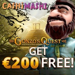 €200 FREE bonus on Book of Dead or Gonzo's Quest
