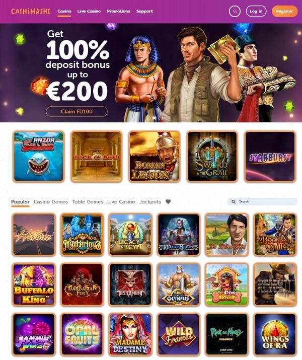 Cashi Mashi Casino Review