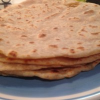 Easy wholemeal roti