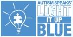 Autism Speaks, Light It Up Blue branding logo