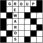 Group Rewards crossword
