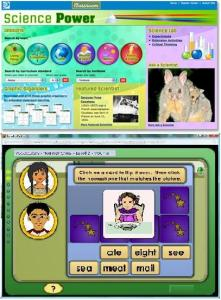 Sample science lesson and language lessons