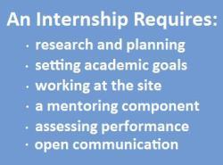 Internship attributes