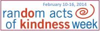 Random Acts of Kindness week 2014