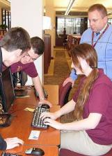 Stuart_and_Students_in_LRC by Gabbyly for wikimediacommons