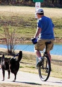 Unicycle-by David R Tribble wikimedia commons