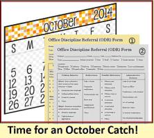 October Catch for PBIS