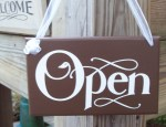 Open sign 2
