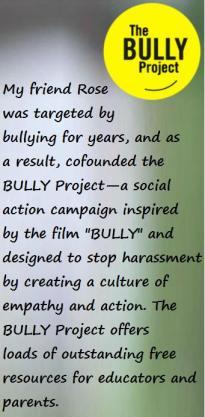 The Bully Project sidebar Kelly Huegel
