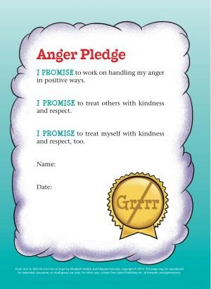 Anger Pledge