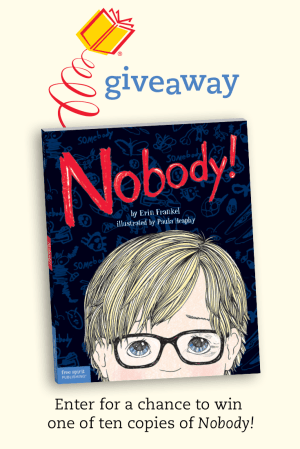 Nobody! Giveaway