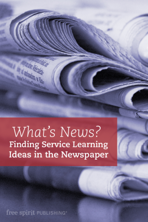 Finding Service Learning Ideas in the Newspaper