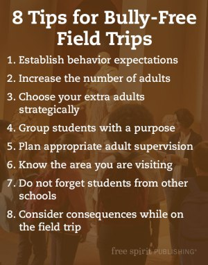 How to Prevent Bullying on Field Trips List