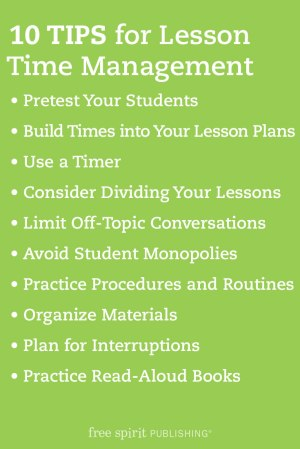 10 Tips for Lesson Time Management