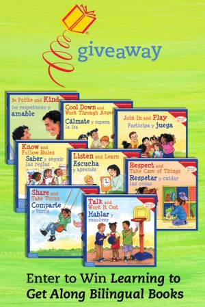 Enter to Win Learning to Get Along Bilingual Books (English-Spanish)