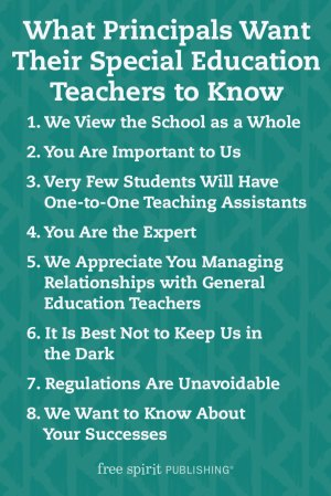 What Principals Want Their Special Education Teachers to Know
