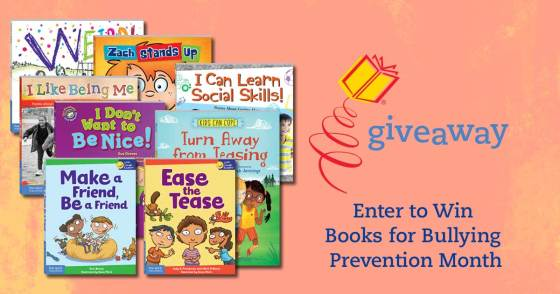 Enter for a Chance to Win Books for Bullying Prevention Month