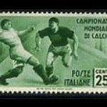 1934 soccer world cup stamp