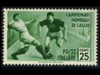 1934 soccer worldcup stamp
