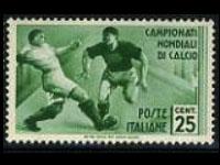 1934 soccer worldcup stamp