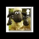 Classic children's TV shows featuring on stamps.