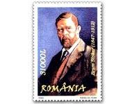 Bram Stoker stamp Bulgaria