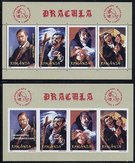 Romania 2004, Dracula, Bram Stoker