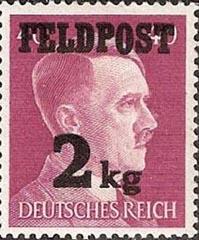 Adolf Hitler stamp