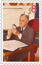 Franklin-D-Roosevelt-collected-stamps