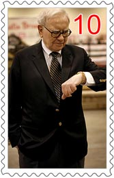 Warren-Buffett-collects-stamps