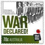Australia commemorates World War I with stamps