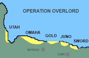 Operation Overlord map