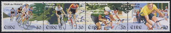 Tour The France stamps Ireland