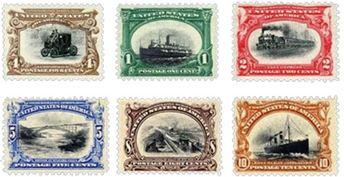 Pan-American stampset