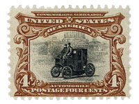 First car stamp
