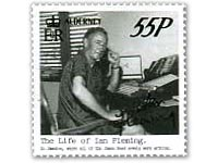 Ian Fleming on stamps