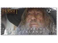 The Hobbit Stamps from New Zealand