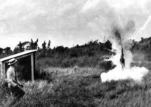 crashing mail rocket