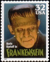 stamp frankenstein-1997-USA