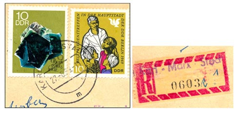 Stamps Karl-Marx-Stadt