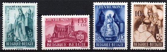 Belgium Stamp with spelling error