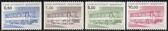 Bus parcel stamps 1981
