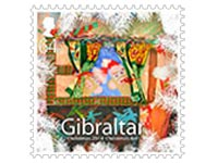 Christmas Stamp 2014 Gibraltar